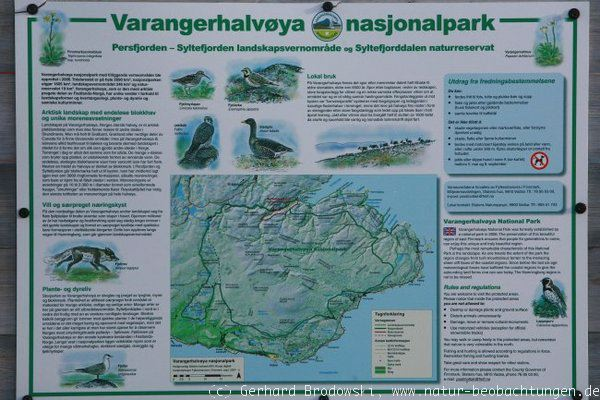 Bilder zur Norwegentour - Varanger Nationalpark